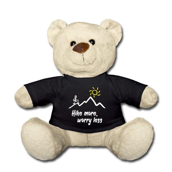 Teddy Bär - Geschenkidee für Wanderlustige