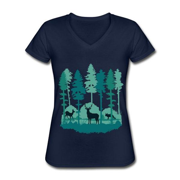 Berg T-Shirt für Frauen