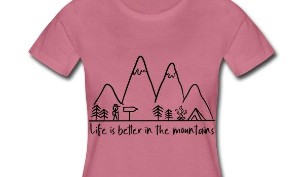 Wandern T-Shirt für Frauen